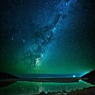 Harriet River, Vivonne Bay & Milky Way by pablosvista2