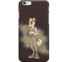 Wallace the Chicken Farmer iPhone Case/Skin