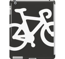 White ghost bike iPad Case/Skin
