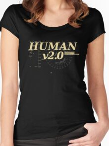 Human v2.0 Women's Fitted Scoop T-Shirt