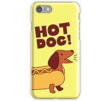 Hot Dog! Dachshund iPhone Case/Skin