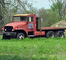 Old truck by mltrue