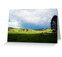 A Country Scene II Greeting Card