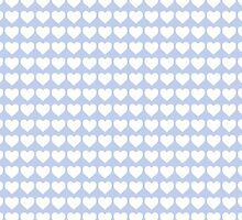 Alice Blue Hearts in an English Country Garden by podartist