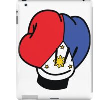 MP Mickey Pacquiao Filipino Flag Boxing Glove by AiReal Apparel iPad Case/Skin