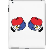MP Mickey Pacquiao Filipino Flag Boxing Gloves by AiReal Apparel iPad Case/Skin