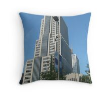 NBC tower Throw Pillow