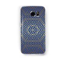 Blue and Gold Samsung Galaxy Case/Skin