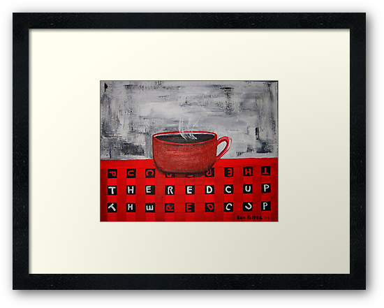 The Red Cup by BenPotter