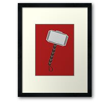 you want me to put the hammer down? Framed Print