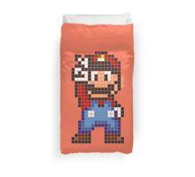 Pixel Mario Duvet Cover