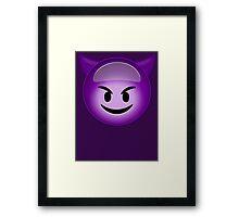 Evil Purple Framed Print