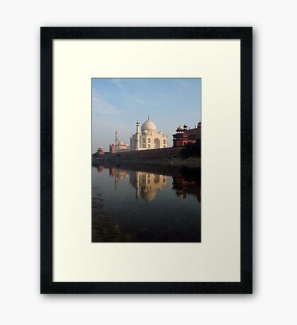 Taj Mahal, India Framed Print