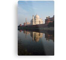 Taj Mahal, India Metal Print