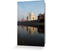 Taj Mahal, India Greeting Card