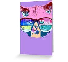 RadCat Greeting Card