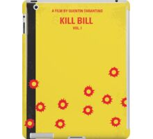 No048 My Kill Bill - part 1 minimal movie poster iPad Case/Skin