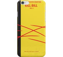 No049 My Kill Bill - part 2 minimal movie poster iPhone Case/Skin