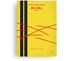 No049 My Kill Bill - part 2 minimal movie poster Canvas Print