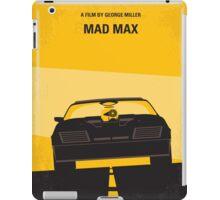 No051 My Mad Max 1 minimal movie poster iPad Case/Skin