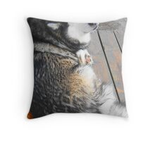Kia Throw Pillow