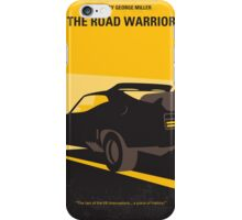 No051 My Mad Max 2 Road Warrior minimal movie poster iPhone Case/Skin
