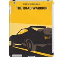 No051 My Mad Max 2 Road Warrior minimal movie poster iPad Case/Skin
