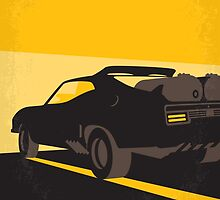 No051 My Mad Max 2 Road Warrior minimal movie poster by JiLong