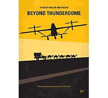 No051 My Mad Max 3 Beyond Thunderdome minimal movie poster Photographic Print