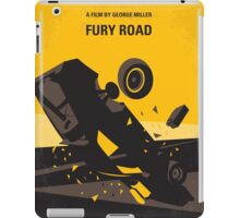 No051 My Mad Max 4 Fury Road minimal movie poster iPad Case/Skin
