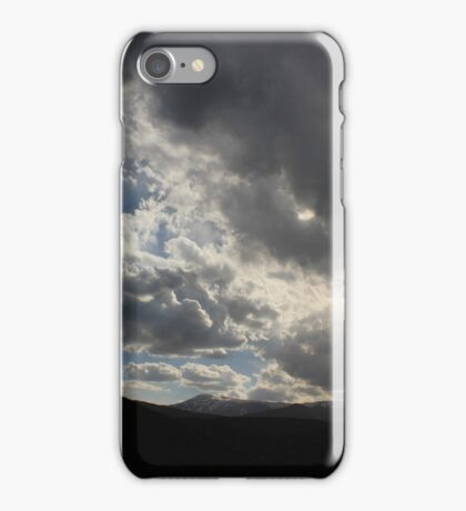 Growing darkness iPhone Case/Skin