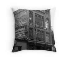 The Rose Theatre Throw Pillow