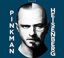 HEISENBERG VS PINKMAN by Sam Noeninckx