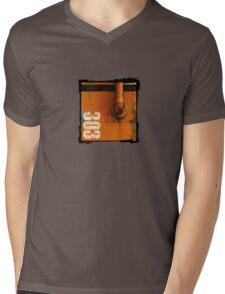 Soft Metal Mens V-Neck T-Shirt