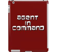Agent in Command iPad Case/Skin