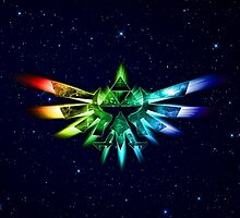 Zelda - Triforce full color by alifart