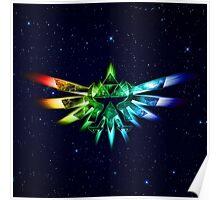 Zelda - Triforce full color Poster
