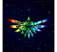 Zelda - Triforce full color Photographic Print