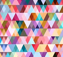 Triangle Mix #5 by Orna Artzi