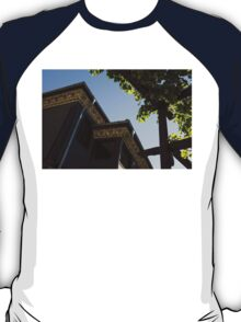 Decorated Eaves and Grapes Trellis - Old Town Plovdiv, Bulgaria T-Shirt