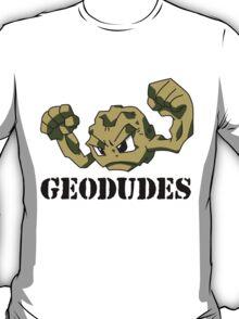Geodude (black text) T-Shirt
