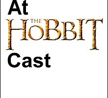 Cackles at the Hobbit Cast (white card) by cynthiaelizabet