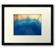 The Hidden Land - The Beach Framed Print
