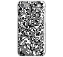 Multi Layer Abstract Pattern Grey iPhone Case/Skin