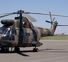 Sud Aviation Aerospatiale SA-330H Puma Helicopter by RatManDude