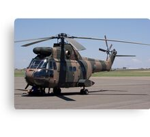 Sud Aviation Aerospatiale SA-330H Puma Helicopter Canvas Print
