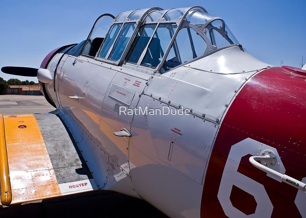 North American Rokwell Harvard AT-6C (SAAF 69) (ZU-FNE) by RatManDude