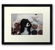 Charlie Girl Waking up Framed Print