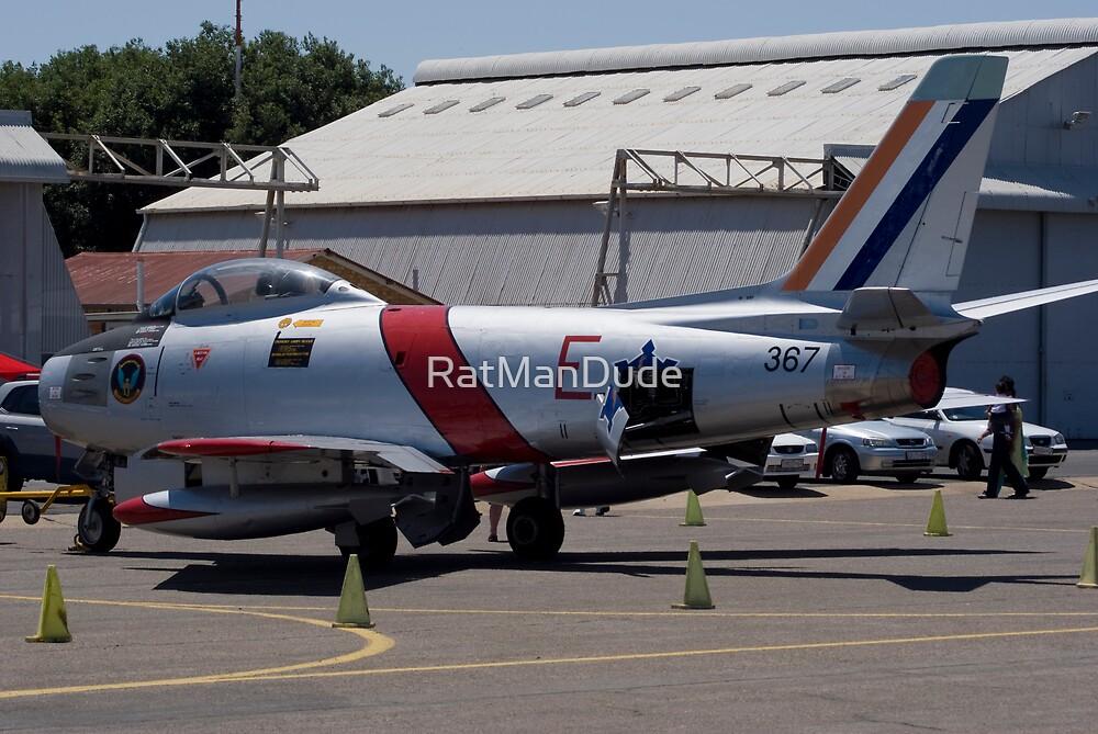 Canadair Sabre Mk6 - SAAF 367 by RatManDude