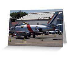 Canadair Sabre Mk6 - SAAF 367 Greeting Card